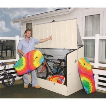 Trimetals BIKE STORE STORAGE UNIT CREAM